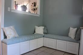Making Banquette From Kitchen Cabinets Edina