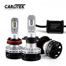 2 Pcs Mini Driver H7 Led Car Styling H4 9003 Hb2 Hi Lo 50w