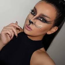 black cat makeup ideas for 4