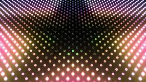 led light wall star hd stock footage clip