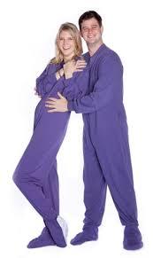 Big Feet Pjs Size Chart Big Feet Pajamas Adult Purple Jersey Knit One Piece Footy