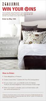 Create Your Dream Bedroom 24 best z gallerie win your pins sweepstakes images 5501 by uwakikaiketsu.us