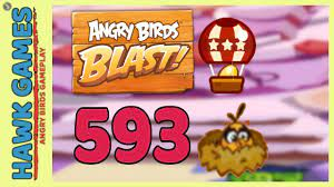Angry Birds Blast Level 593 Extreme - 3 Stars Walkthrough, No Boosters -  YouTube