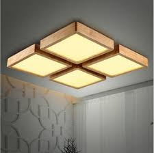 New Creative OAK Modern led ceiling lights for living room bedroom lampara  techo wooden led ceiling lamp fixtures luminaria discount modern wooden  light ...