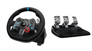 many of the best options include not just a wheel but also shifters and pedals for the full racing experience the logitech driving force g29 offers this