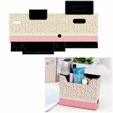 diy makeup cosmetic stationery paper board storage box desk decor organizer for