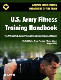 u s army fitness handbook the official u s army physical readiness manual august