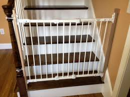 baby stair gate baby gate for bottom of stairs with metal