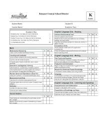 Student Report Card Template Printable Report Card Template Student Grade Maker Free