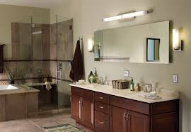 bathroom above mirror lighting. Modern Bathroom Lighting Fixtures Ideas With Led Dar Light Above Mirror Table Sink T