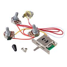 61vA02GymaL._SY524_ bqlzr guitar wiring harness prewired 047 cap 3 500k pots amazon on guitar wiring harness uk