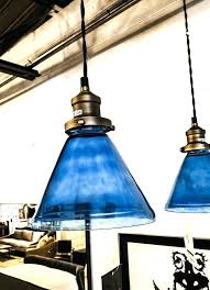 gorgeous blue pendant light pendant light single bulb blue ca navy blue pendant light shade