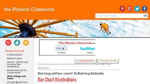 Energy Bar Charts Physics The Physics Classroom The Work Energy Relationship Bar