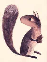Small Picture Best 25 Squirrel illustration ideas on Pinterest Squirrel art