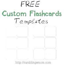 Blank Flash Cards Template Free Blank Flash Card Template Blank Flash Card Template