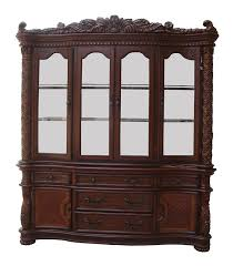 large china cabinet.  Large Amazoncom  ACME 60006 Vendome Hutch And Buffet China Cabinet Cherry  Finish Cabinets On Large Cabinet A