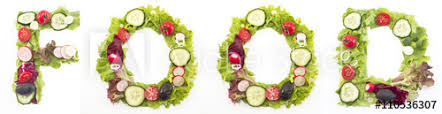the word food made out of food.  Out Word Food Made Of Salad With The Food Made Out Of O