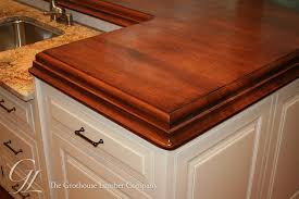 wood kitchen island countertop american cherry kitchen island top in pennsylvania