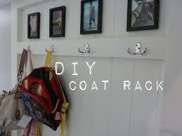 Diy Coat Rack Bench Diy Diy Coat Rack 52