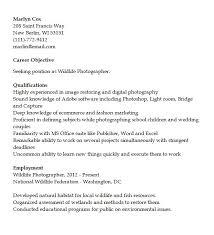 Photographer Resume Clamper Pod Designer