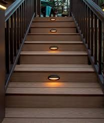 Flush Mount Deck Lights Solar Lighting Stylish Low Voltage Deck Lighting For Chic Outdoor