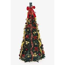 Amazoncom LB International 30890660 PreLit Red Artificial Red Artificial Christmas Trees