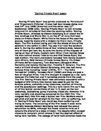 saving private ryan essay gcse english marked by teachers com page 1 zoom in