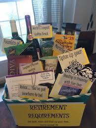 cute retirement gift basket diy retirement
