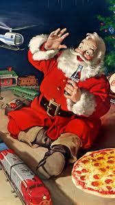 Santa Claus Coca Cola Christmas Android Wallpaper Free Download