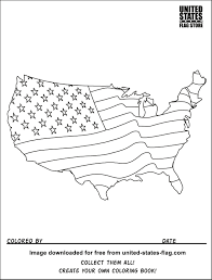 Small Picture Printable Coloring Pages Us Map