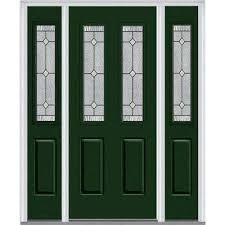 front doors with side panelsSingle door with Sidelites  Steel Doors  Front Doors  The Home
