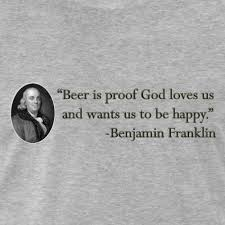 Ben Franklin Beer Quote Mesmerizing Funny And Cool TShirts And Gifts Ben Franklin Beer Quote Mens