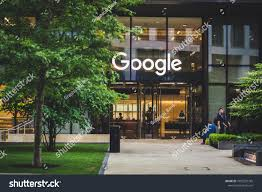 google london office. LONDON, UK - MAY 28, 2018: Google Office Front Entrance In London, London