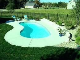 small inground fiberglass pool cost astonishing awesome swimming pools for backyards