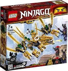 <b>Конструктор LEGO NINJAGO</b> 70666 <b>Золотой</b> дракон — купить в ...