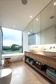 modern bathroom double vanities modern bathroom designs bathroom contemporary with double vanity landscape views image by modern bathroom double vanities