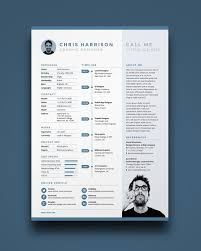 Free One Page Resume Template Extraordinary One Page Resume Template Free Commily