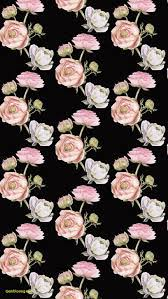 Iphone Rose Gold Wallpaper Flowers