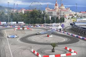 <b>Drift</b> school – Sochi Autodrom