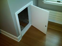 knee wall doors minimize energy waste and lower your monthly bill