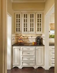 image of antique white pantry