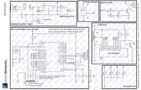 gsm project at low cost avr atmega16 mcu connected to sim300 gsm schematic circuit diagrams