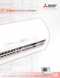 mitsubishi m series wiring diagram mitsubishi msz fh hyper heating inverter residential heating pump on mitsubishi m series wiring diagram