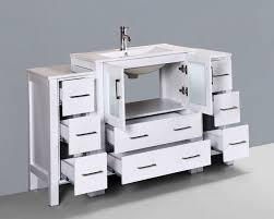 54 Bathroom Vanity Cabinet 54 Bosconi Aw130u2s Contemporary Single Vanity Bathroom
