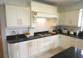 Contemporary Kitchen Units Ivory Kitchen Units With Black Worktops Http Www