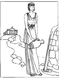 Small Picture Greek Mythology Coloring Pages GetColoringPagescom