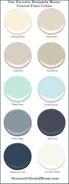 Attractive Favorite Benjamin Moore Coastal Paint Colors. Paradise Beach Benjamin  Moore. White Sand Benjamin Moore