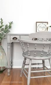 looklacquered furniture inspriation picklee. Grey-Glazed Desk And Chair W Poly Wax Topcoat Looklacquered Furniture Inspriation Picklee