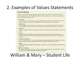 Personal Value Statement Examples Personal values statement Research paper Writing Service 2