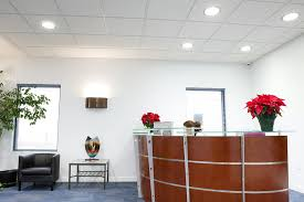 office light. office 2x2 troffer hallway lighting and 2x4 in training room light